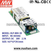 Mean well HLP-80H-30 80W 30V led driver 30v power led driver 80w