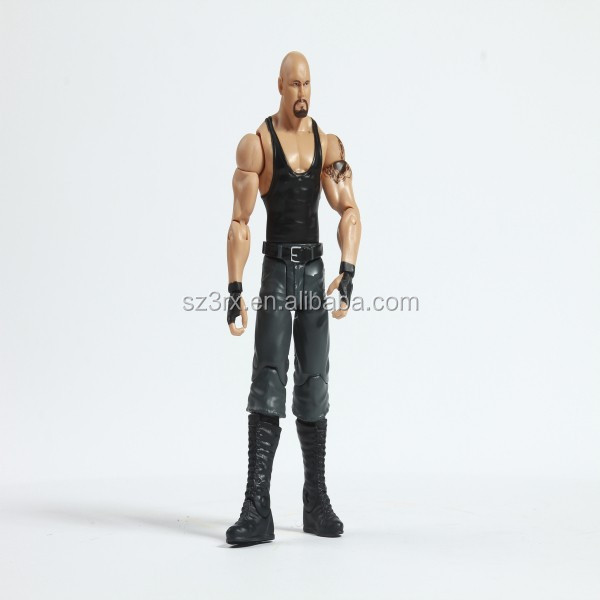 custom 1/6 action figure plastic miniature human figure/30cm action figure in china factory
