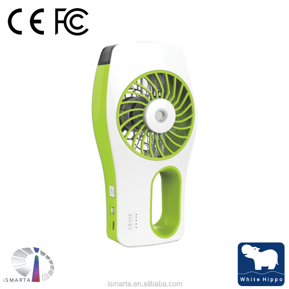 USB Rechargeable Outdoor Handheld Cooling Mist Spray Pocket air cooling USB min fan