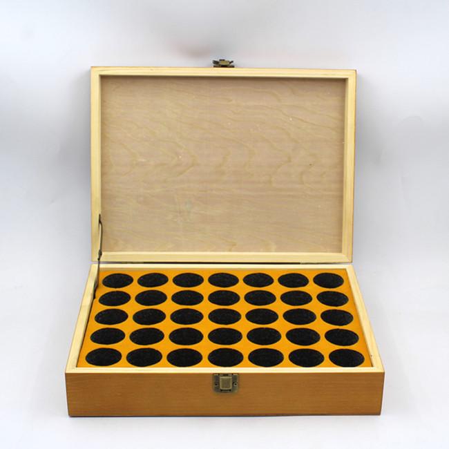Customized Acrylic Sliding Lid Wooden Storage Box