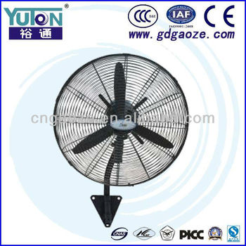 Warehouse workshop hotel Industrial standard wall mounting exhaust fan (20'',26''30'')