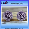 Purple resin flower bulk resin flower bulk artificial flowers st3075