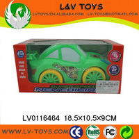 Plastic B/O Cartoon car with music and light