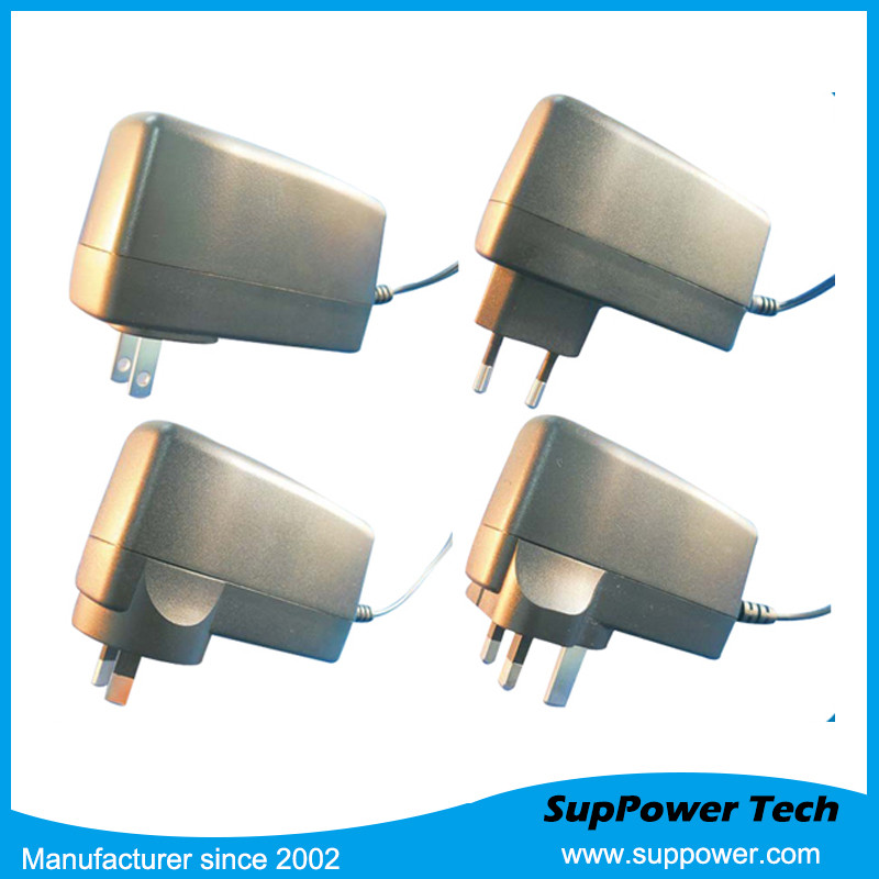 24W USB ADAPTER 230v ac input 12v dc output POWER ADAPTER FOR LED PRODUCT WITH FCC SAA GS CB CERTIFICATES