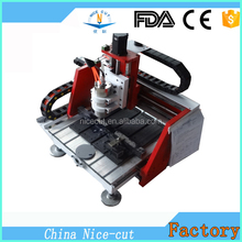 NC-A4040 mini lathe machine 5 axis aluminum 3d cnc router