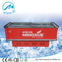 island freezer 550L supermarket showcase equipment