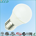 LED Table Lamp Bulb 3W 5W 2700K Soft White 120 Volts 230 Volts G45 Lamp