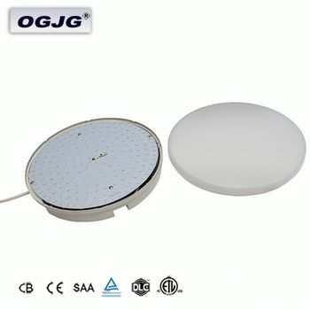 Custom Design Top Quality Ip54 indoor decoration Round Led Ceiling Lighting Verandah dimmable sensor led Panel lights