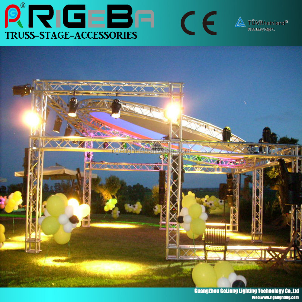 6082-T6 aluminum truss lighting truss for concert fashion show
