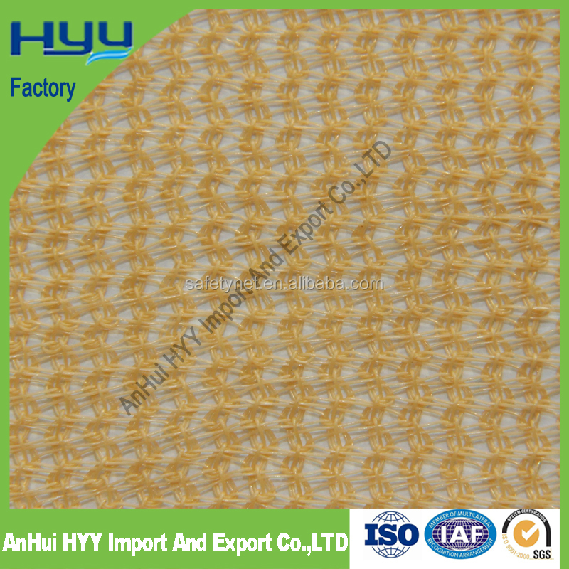 Plastic netting for sun protection car cover