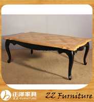 Antique Vintage Rustic Natural Wooden Coffee Table french provincial coffee tables