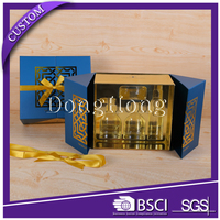 Newest style design paper luxury packaging perfume box