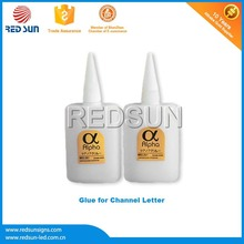 Waterproof fabric pvc glue for Face-Lighted Channel Letter