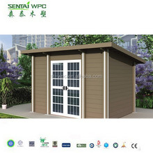 Quick installation Waterproof and UV resistant WPC portable house