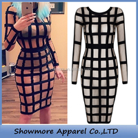 Style Number L303 cut out bandage dress wholesale