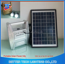 Portable 10w home solar panel system DN1304-10W
