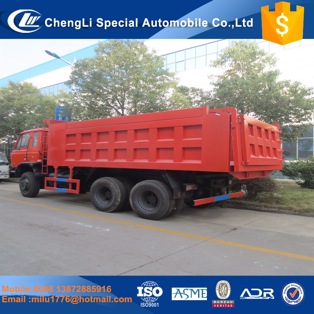 2017 hot selling Dongfeng 10 wheel dump truck