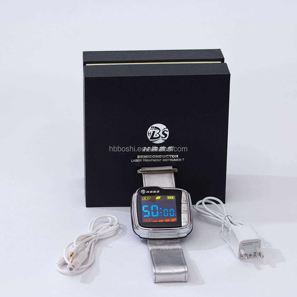 Wrist and nasal type low intensity bio laser treatment popular cold laser therapy watch