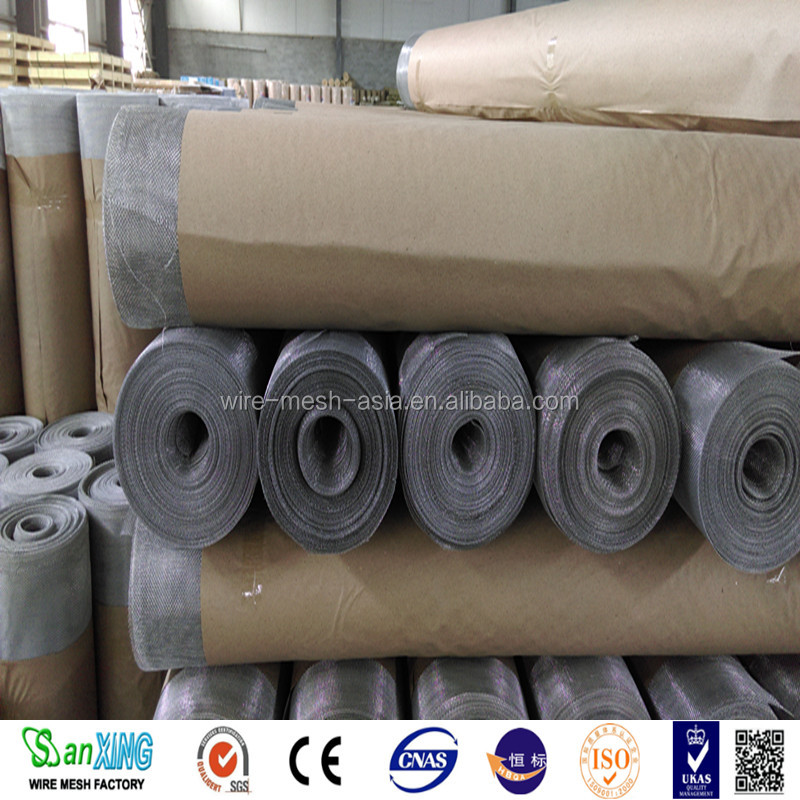 Southeast Asia market aluminum window screen