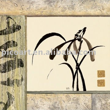 asian art reproduction handpainted canvas painting