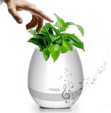 New product hottest bluetooth speaker wireless ,outdoor bluetooth speaker subwoofer speaker box music flower pot