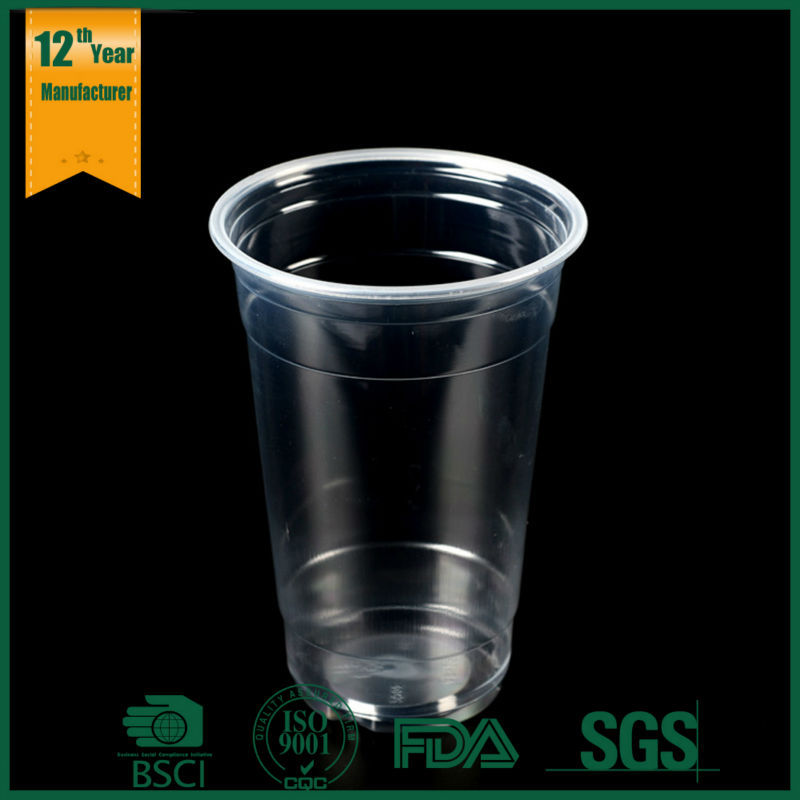 Transparent clear small size plastic cup for kids for Small plastic cups