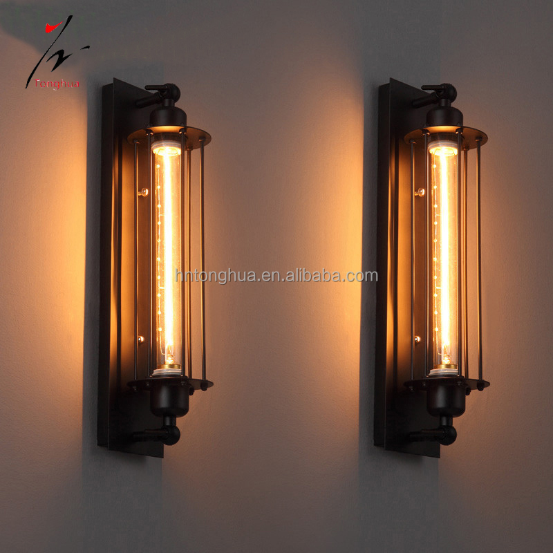 Loft Vintage Wall Lamps Industrial Wall Light Edison Light 40W E27 Home Decoration Lighting