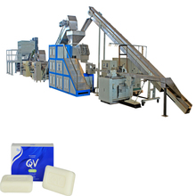 150kg/h soap production line machine