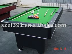 Hot-selling Led snooker table from double-star factory