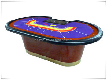 Factory Cheapest price Solid wooden Baccarat Table