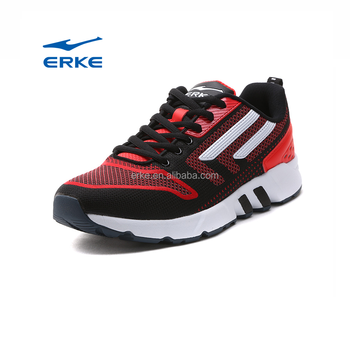 wholesale 2017 fashion ERKE brand factory lace-up mens sports shoes for running