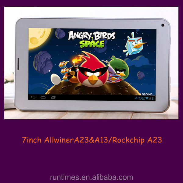 Cheapest!!! 7inch Allwinner A23 dual core 1.2GHz Android 4.2 tablet pc with front and back camera