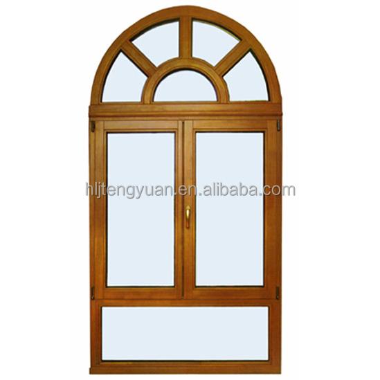 Half round wood door window designs buy door window for Window design round