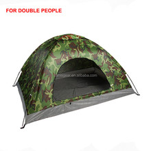 Camping tent in camo/camo tent for camping hiking
