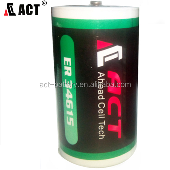 3.6 Volt 19 Ah D Lithium Battery w/Tabs can replace TADIRAN TL2300, TL5930, SAFT LS-33600 battery