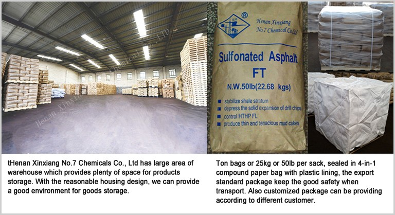 Henan Xinxiang No.7 Chemicals Co.Sulfonated Asphalt