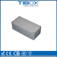 TIBOX aluminum extrusion enclosure/die cast enclosure/aluminum device case