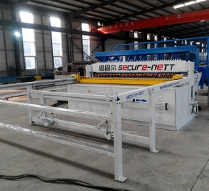 Hot dipped Galvanized Wire Mesh Cable Tray making Machine