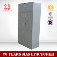 Metal Locker Design Furniture by Henan Supplier 10 door bedroom wardrobe