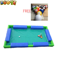 2017 hot sale outdoor and indoor inflatable billiard table