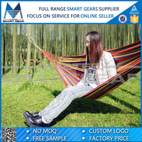 Colorful Portable Parachute Straps Camping Hammock