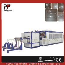 PLC control Automatically plastic cup thermoforming machine