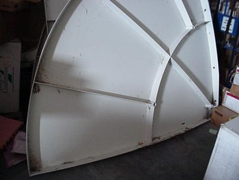USED Prodelin 3.8 Meter Ku-Band Tx/Rx VSAT Antenna
