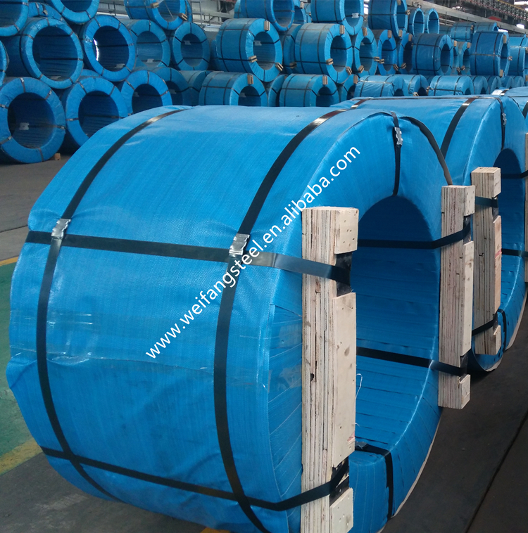 Hollow core steel cable/ wire rope / PC Strand