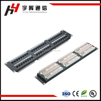 2U CAT6 48 Port Rack Mount patch panel, 2U patch panel