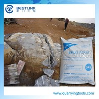 Cracking powder Expansive Mortar for stone quarrying
