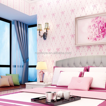 Low price high quality modern design special lovely 3d wallpaper for living room