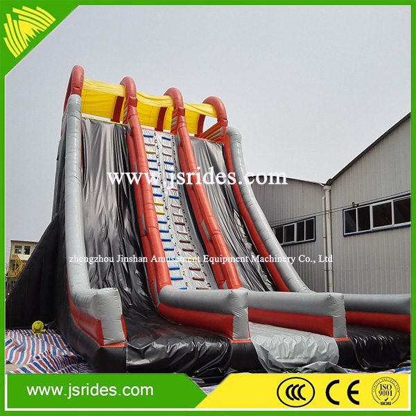 Amusement park used inflatable water slide PVC material