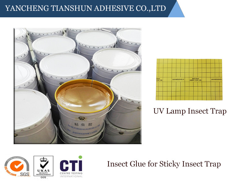 Eco-friendly sticky insect trap glue