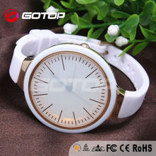 New products 2014 vogue watch trendy silicone sport watches women